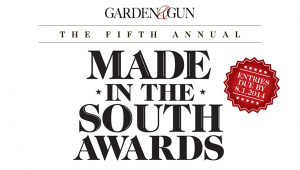 Garden and Gun's fifth annual Made in the South Awards