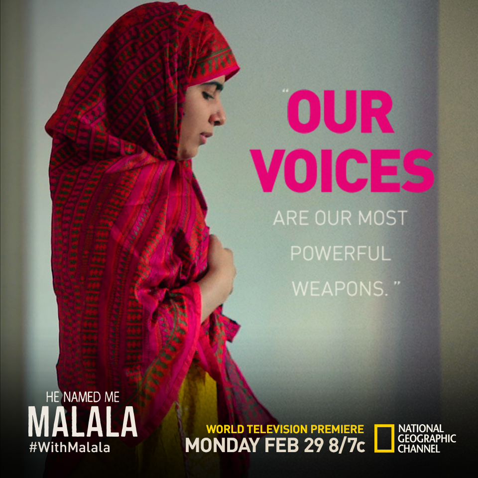 I Am Malala Quotes Watch He Named Me Malala Withmalala  A Daily Pinch